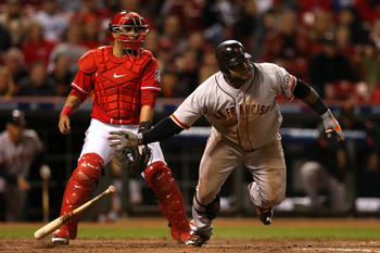 Pablo Sandoval had three huge RBI in Wednesday's win over the Reds.