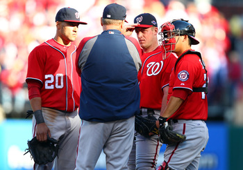 """I think maybe Strasburg might have helped us in this series. Just saying."""