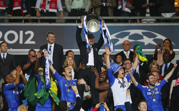 Di Matteo helped Chelsea capture their first ever Champions League trophy