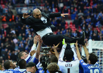Di Matteo has been a locker room favorite at Chelsea