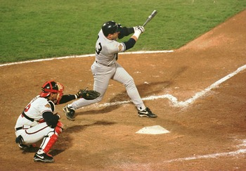 Jim Leyritz's Game 4 home run in 1996 helped to revitalize the Yankees.