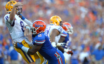 Dominique Easley is one crazy character on Florida's talented defense.