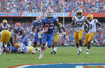 Mike Gillislee has put himself in Heisman consideration.