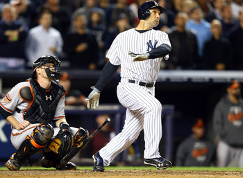 Raul Ibanez lifted two huge shots into the right field stands.
