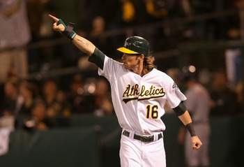 Josh Reddick may be pointing to Game 5