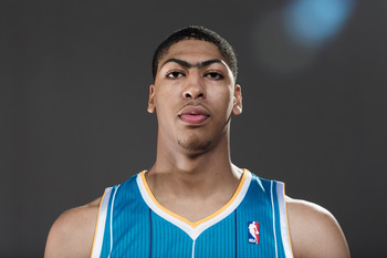 Anthony Davis rookie photoshoot