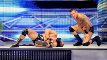 Randy Orton and Alberto Del Rio have only had two brief run ins. (Photo Credit: WWE.com)