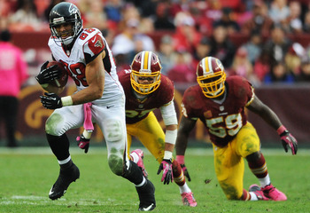 The Redskins failed to contain Tony Gonzalez last week, and have struggled all season against tight ends.