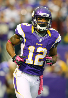 Percy Harvin excels in getting yards after the catch.