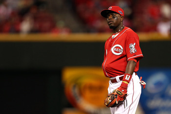Brandon Phillips had a tremendous play to save a run.