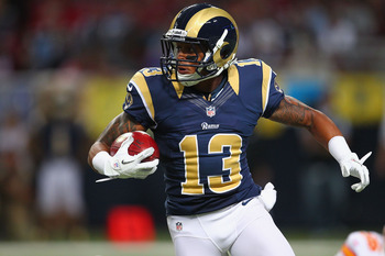 Rookie wide receiver Chris Givens