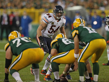 Brian Urlacher & The Green Bay Packers