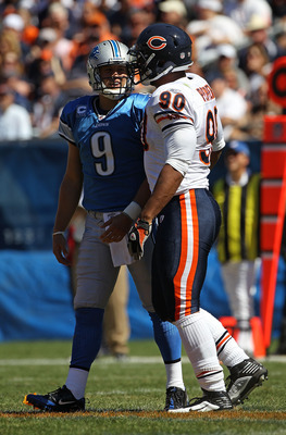 Matthew Stafford & Julius Peppers