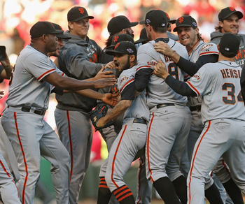 Giants made like road warriors to dispatch the Reds