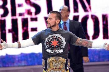 WWE Champion CM Punk (Courtesy of WWE.com)