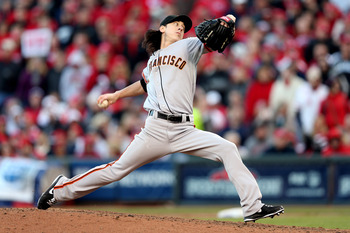 Tim Lincecum was outstanding in relief for the Giants