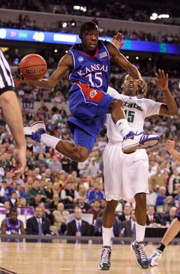 Kansas and Michigan State met in the 2009 Sweet Sixteen
