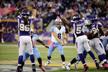 The Vikings boast one of the best defenses in the league