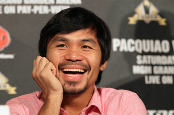 If Pacquiao gets by Marquez, Rios or Alvarado could be next.