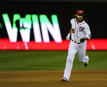 Jayson Werth leads off a lethal Washington Nationals lineup.