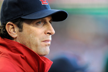 Mike Matheny will try to get past Davey Johnson in Game 5.