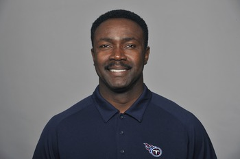 NASHVILLE, TN - CIRCA 2011: In this handout image provided by the NFL, Jerry Gray of the Tennessee Titans poses for his NFL headshot circa 2011 in Nashville, Tennessee. (Photo by NFL via Getty Images)