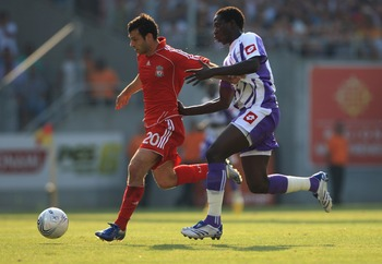 Moussa Sissoko (right) is one of many talented players at Toulouse.