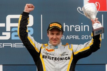 Valsecchi is the new GP2 champion - image courtesy of davidevalsecchi.com