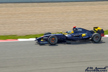 Luca Filippi driving for Super Nova at the Catalunya round of the 2009 GP2 Series season - photo courtesy of Jose Mª Izquierdo Galiot