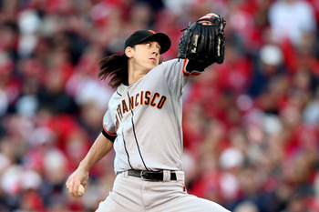 Lincecum found his groove in game 4.