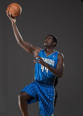 Andrew Nicholson in 2012 NBA Rookie photo shoot.