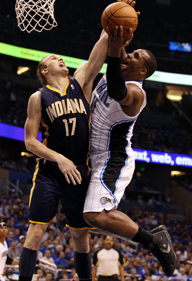 Glen Davis in Game 4 of the 2012 NBA playoffs against Indiana.