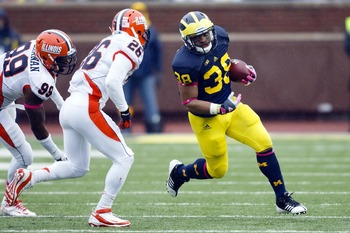 Flint's Thomas Rawls needs more time on the field.
