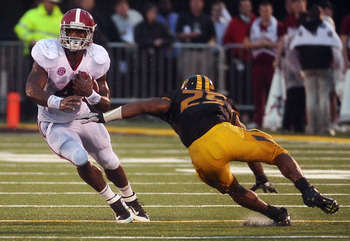 Yeldon had a career-best 18 carries for 144 yards and two TDs against the Tigers.