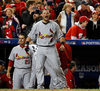 The fiery Molina can't go .118 in the NLCS