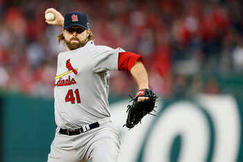 The middle relief was excellent for St. Louis in the NLDS
