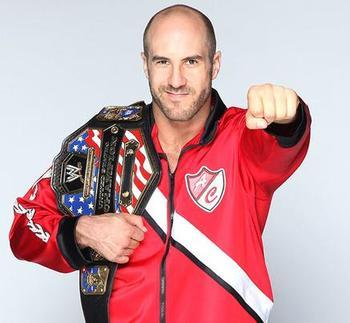Current US Champ Antonio Cesaro.  Photo credit: Wrestleenigma.com