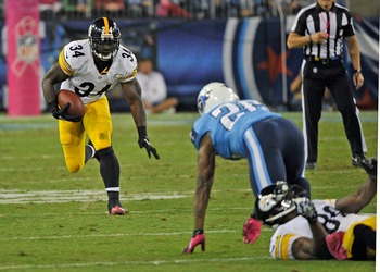 Rashard Mendenhall will provide a spark for the struggling Steelers.