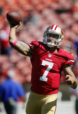Colin Kaepernick got his most significant playing time of the season