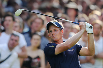 Luke Donald won the 2012 BMW PGA
