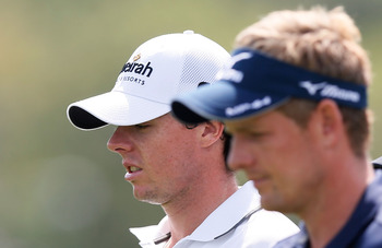 Luke Donald was the first golfer to win the money titles on both the European and PGA Tours.  Rory McIlroy is in position to accomplish that feat in 2012
