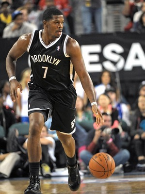 Joe Johnson on the break.
