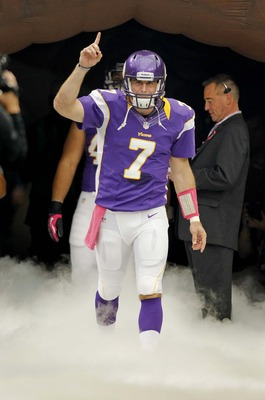 Entering Week 6 Christian Ponder was second in completion percentage (69.0) and in the top 10 for passer rating (95.5).