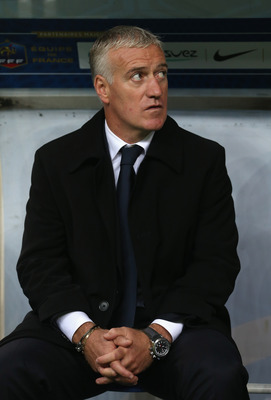 Didier Deschamps looks for his first marquee win as head of the French National Team.