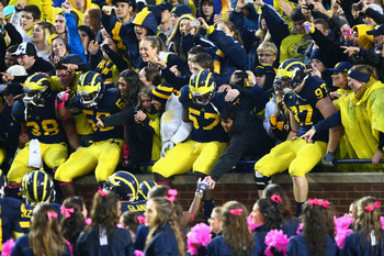 The Wolverines faithful should feel great about Saturday's win over Illinois.