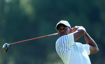 Tiger Woods' driving isn't as bad as it looks.