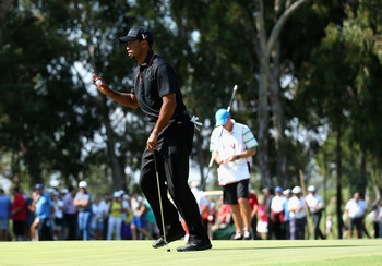 Tiger Woods needs to find his putting stroke again.