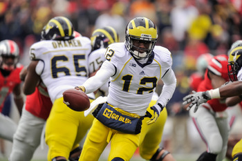 Michigan Quarterback Devin Gardner (12)