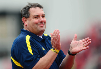 Michigan head coach Brady Hoke