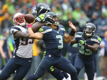 Russell Wilson and the surprising Seahawks will face the 49ers on Thursday